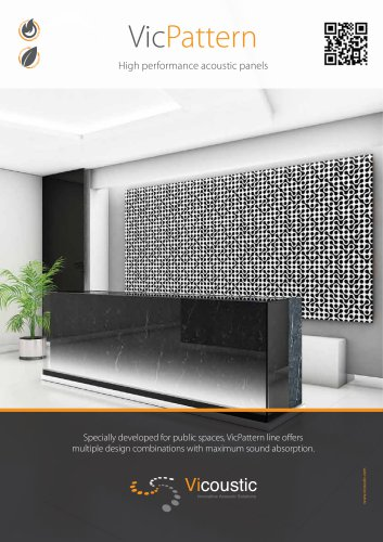 Vicpattern High Performance Acoustic Panels Vicoustic Pdf Catalogs Technical Documentation Brochure