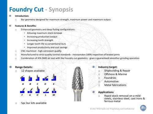 Foundry cut