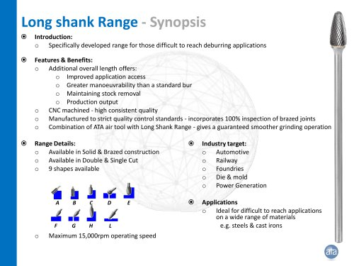 Long shank Range