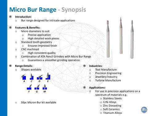 Micro Bur Range
