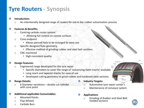Tyre routers
