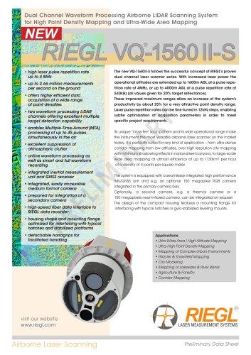 RIEGL VQ-1560 II-S