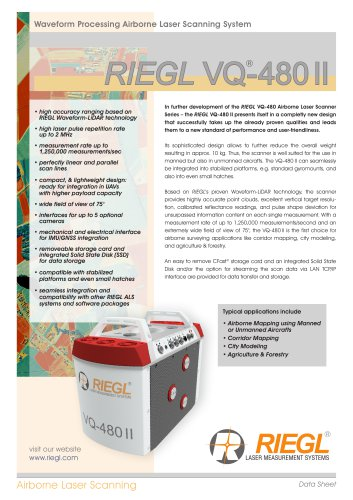 RIEGL VQ-480 II