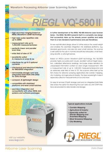RIEGL VQ-580 II
