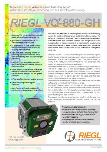 RIEGL VQ-880-GH