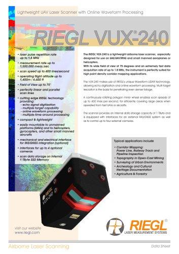 RIEGL VUX-240