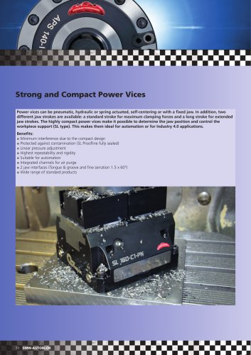 Strong and Compact Power Vices