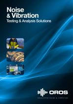Noise & Vibration Testing & Analysis Solutions