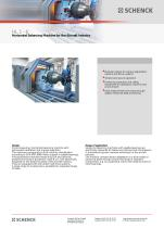 HL 1 - 6 Horizontal Balancing Machine for the Aircraft Industry