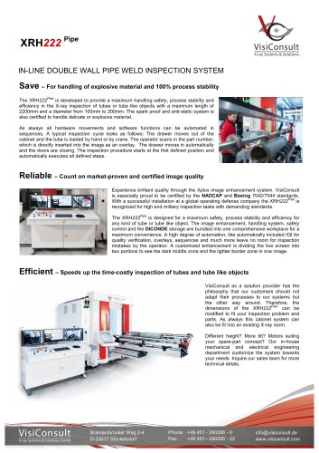 XRH 222 Pipe - Visiconsult GmbH - PDF Catalogs | Technical