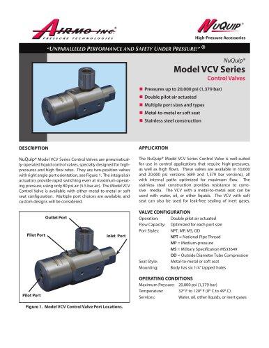 NuQuip®Model VCV Series