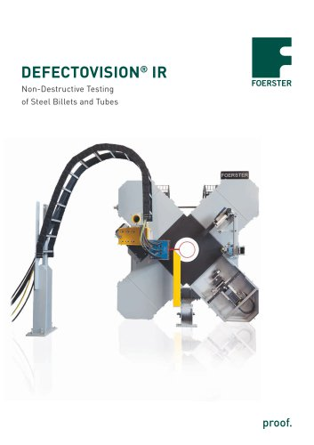 DEFECTOVISION ® IR - Foerster Instruments - PDF Catalogs