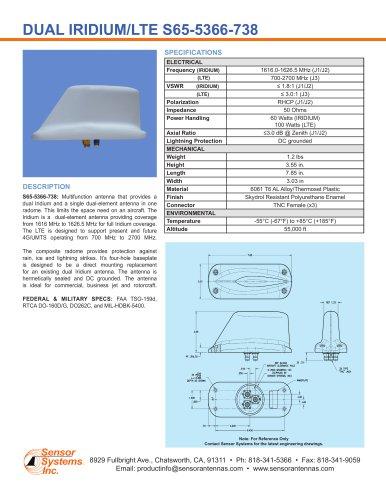 Dual Iridium/LTE