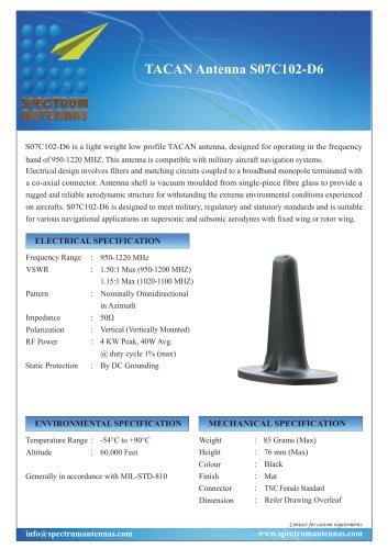 TACAN Antenna S07C102-D6