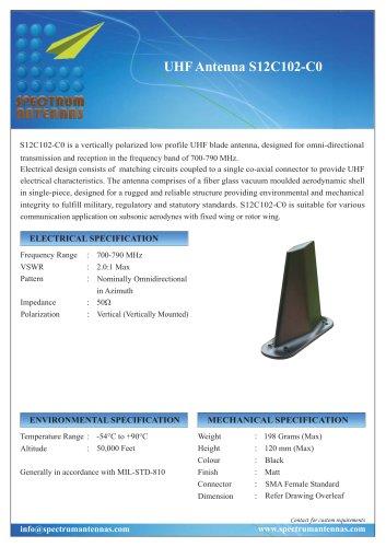 UHF Antenna S12C102-C0