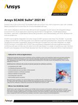 1EMBEDDED SOFTWARE  / SCADE Suite®//Ansys SCADE Suite® 2021 R1