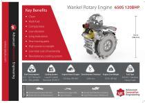 650S – 120 BHP WANKEL ROTARY ENGINE