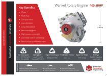 Wankel Rotary Engine  40S 5BHP
