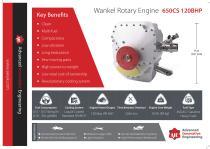 Wankel Rotary Engine 650CS 120BHP