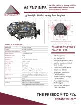 V4 ENGINES Lightweight 180 hp Heavy Fuel Engines