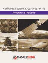 Adhesives, Sealants and Coatings for the Aerospace Industry - 1