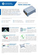 CERTUS EVO MEMS GNSS/INS