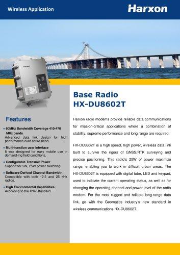Base Radio HX-DU8602T