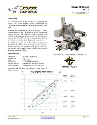 Corvid-50 Engine