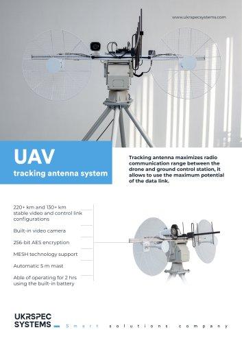 UAV tracking antenna system