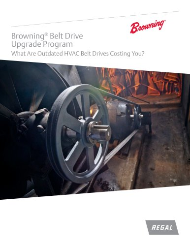 Browning Belt Drive Upgrade Program Brochure