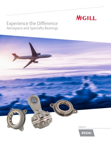 Experience the Difference Aerospace and Specialty Bearings