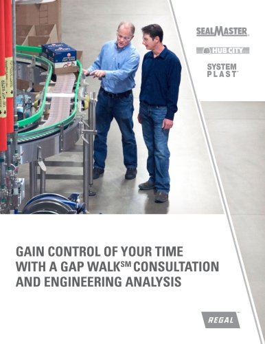 Sealmaster, Hub City, System Plast - Gain Control of Your Time with a Gap Walk