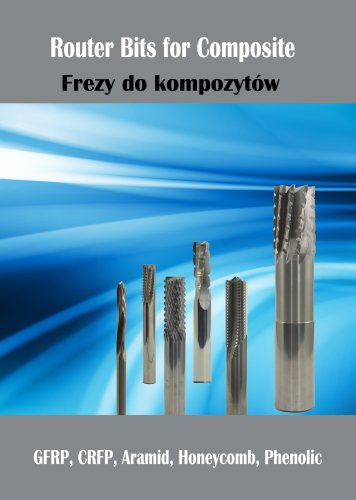 Solid carbide routers for composite