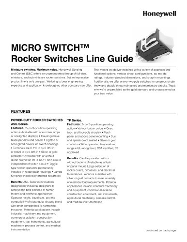 MICRO SWITCH™