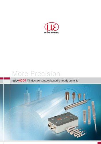 eddyNCDT // Inductive sensors based on eddy currents
