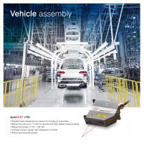 Sensors & Applications Automotive Production - 16