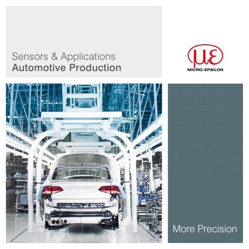 Sensors & Applications Automotive Production
