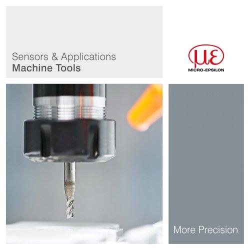 Sensors & Applications Machine Tools