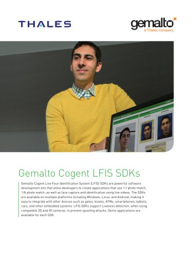 Gemalto Cogent LFIS SDKs