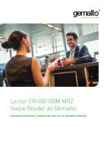 Lectores MRZ y MSR CR100M de Gemalto