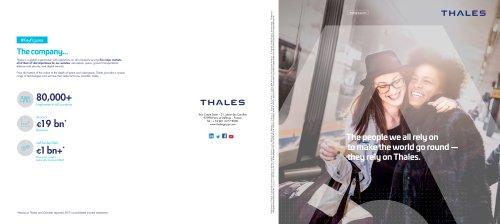 Thales Brochure EN