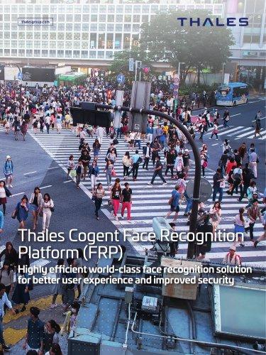 Thales Cogent Face Recognition Platform