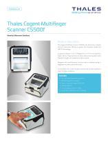 Thales Cogent Multifinger Scanner CS500f