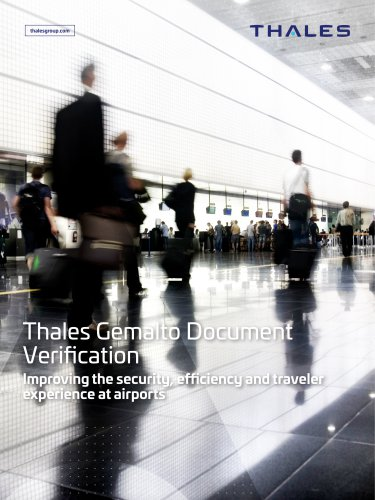 Thales Gemalto Document Verification