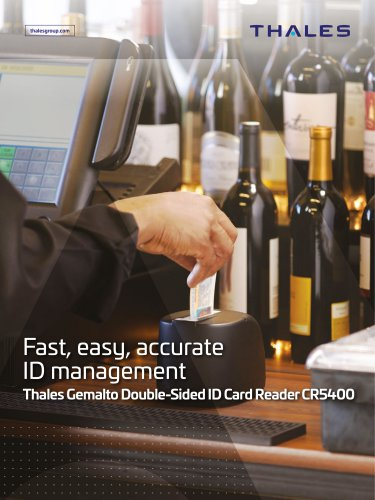 Thales Gemalto Double-Sided ID Card Reader