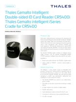 Thales Gemalto Intelligent Double-sided Card Reader CR5400i - 1