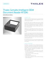 Thales Gemalto Intelligent OEM Document Reader AT10Ki OEM
