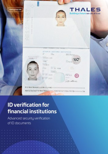 Thales ID Verification for Financial Institutions