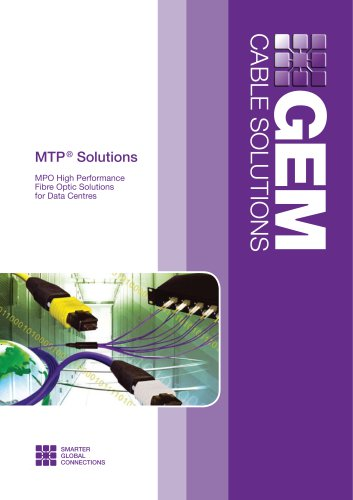 MPO High Performance Fibre Optic Solutions for Data Centres