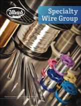 Specialty Wire Group Brochure - 1